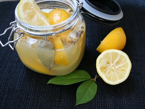 рецепт маринованных целых лимонов